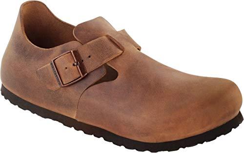 BIRKENSTOCK Shoes Halbschuh London antik braun 166563, Größe + Weite:38 schmal, Farben:antik braun