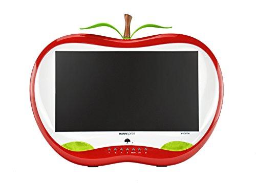 Hannspree HA 195 HPR LED Display 47 cm (18.5 Zoll) WXGA LCD Flach Matt Rot, Weiß - Computerbildschirme (47 cm (18.5 Zoll), 1366 x 768 Pixel, WXGA, LED, 5 ms, Rot, Weiß)