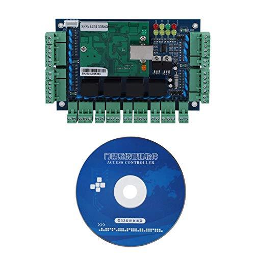 Lector de Placa de Panel de Control de Lector de Tarjetas de Acceso de Red TCP/IP para Uso de 4 Puertas Wiegand