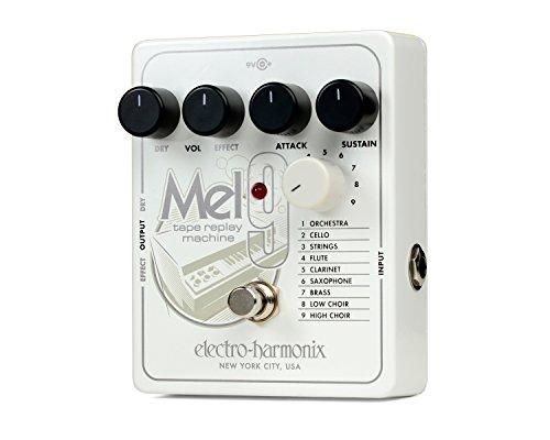 Electro Harmonix 665241 Efecto Guitarra Eléctrica con Sintetizador MEL9, Tape Replay Mach.