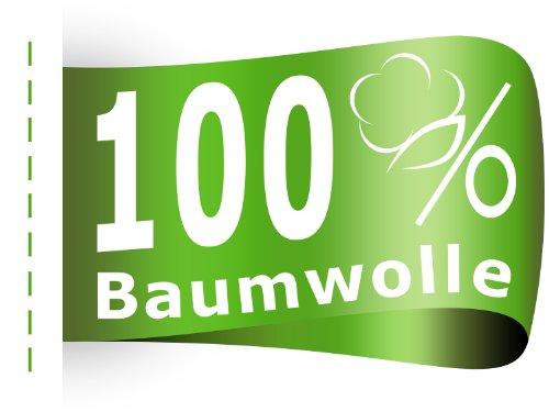 #20 npluseins Kinder-Spannbettlaken, Spannbetttuch, Bettlaken, 70×140 cm, Weiß - 8