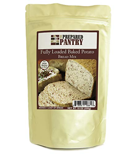 The Prepared Pantry Fully Loaded Baked Potato Bread Mix; Single Pack; For Bread Machine or Oven