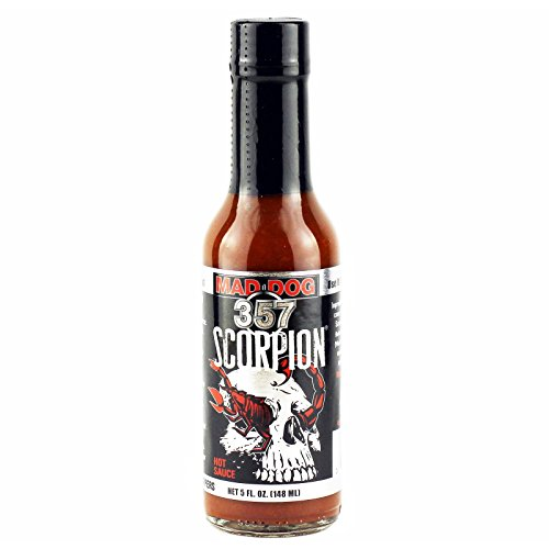 Mad Dog 357er Scorpion Hot Sauce - 148ml