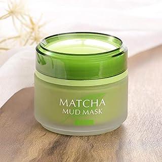 Laikou Green Tea Matcha Facial Mud Mask, Removes Blackheads, Reduces Wrinkles, Nourishing, Moisturizing, Improves Overall ...