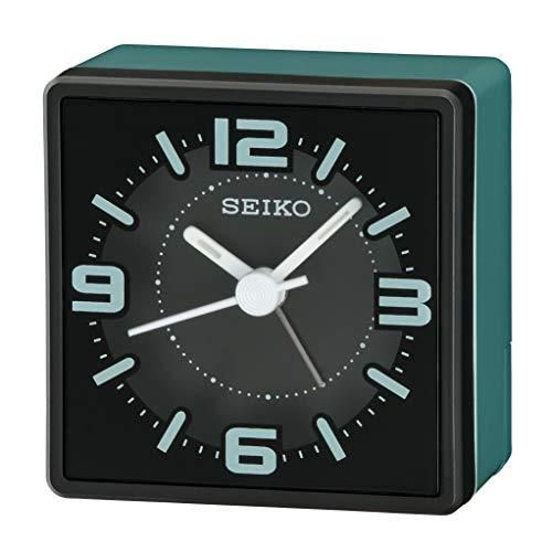 Seiko Alarm Clock, Green, S