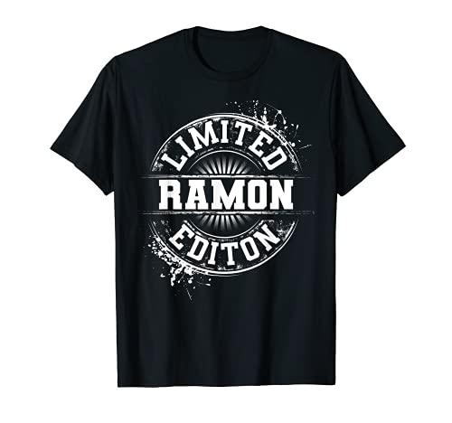 RAMON Limited Edition - Regalo de broma con nombre personalizado Camiseta