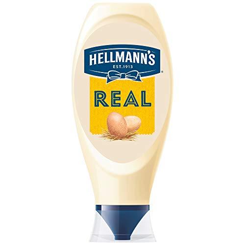 Hellmann's Real Squeezy cremosa y deliciosa mayonesa, 750 ml