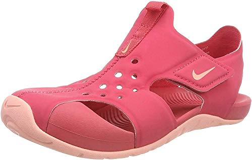 Nike Unisex Kinder Sunray Protect 2 Sport Sandalen, Mehrfarbig (Tropical Pink/Bleach 600), 31 EU