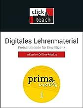 prima.nova Latein lernen / prima.nova click & teach 1 Box: Gesamtkurs Latein / Digitales Lehrermaterial (Karte mit Freisch...