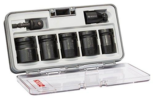 Bosch Professional 7tlg. Steckschlüsseleinsätze-Set für Sechskantschrauben