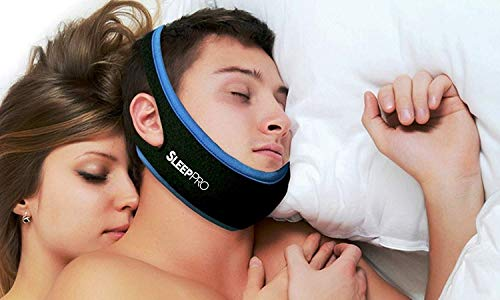 Anti Snoring Chin Strap Device for Sleeping, Best Anti-Snoring Sleep Aid, Snore Stopper Jaw Strap Perfect Solution for Snoring Problems, Snore No More! by SleepPro™