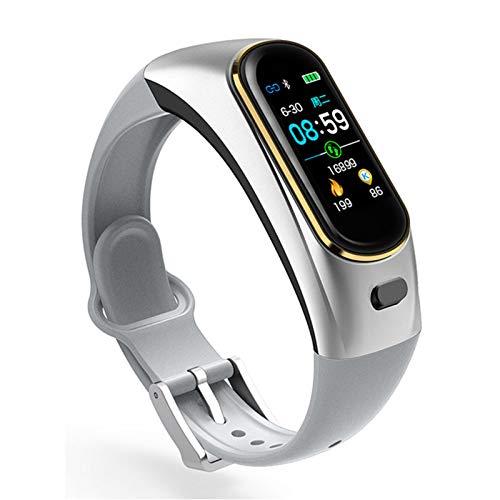 YYZ H109 Color Auricular Llamada Pulsera Inteligente Pulsera Monitor de Ritmo cardíaco Deportes Smart Reloj Monitor de presión Arterial Aptitud,A