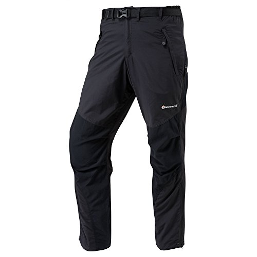 Montane Terra Pants (Regular Leg) - SS17 - Large - Black