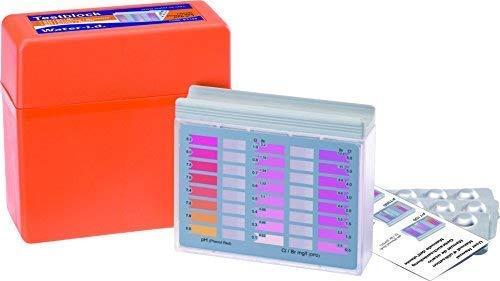 well2wellness Pooltester für Chlor + pH Wert mit je 30 Testtabletten