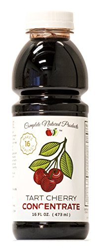 Sweet Montmorency Tart Cherry Juice Concentrate - 12oz Syrup, Extract, Tart Cherry Juice Supplement for Sleep & Gout