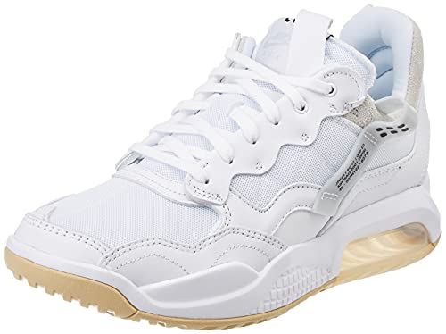 Nike Jordan MA2, Scarpe da Ginnastica Donna, White/Sesame/Pure Platinum/Black, 42 EU
