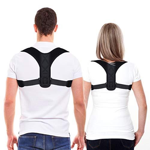 Posture Corrector for Women and Men, Upper Back Straightener Support, Adjustable and...