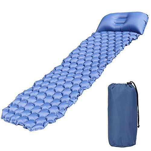 Vochtbestendig Massage Opblaasbaar Kussen Waterdicht Outdoor Slaapkussen Camping Kussen Gewicht Gemakkelijk Opslag Reiniging Geschikt voor Wandelen Hangmat Tenten En Rugzakken
