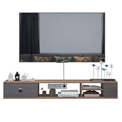 ZY-XSP Schwimmdock Regale Wand-Tv Cabinet Racks Kleine Wohnung Moderne Minimalist...