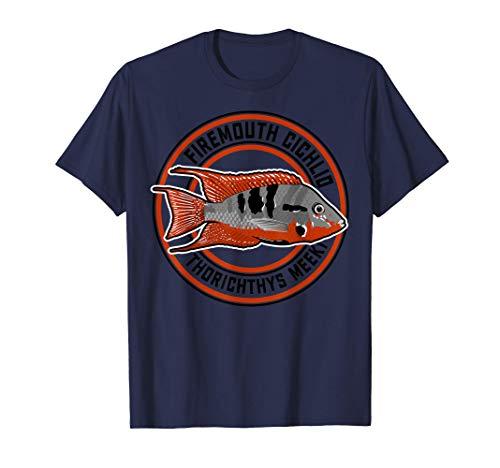 Feuermaulbuntbarsch Buntbarsch Cichlide Aquarium Zierfisch T-Shirt
