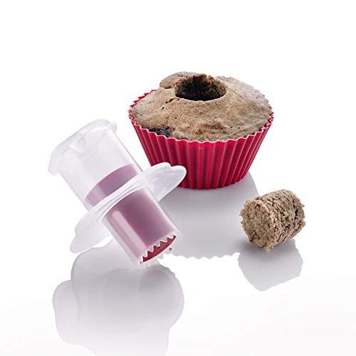 Westmark CupCake-Aushöhler, Kunststoff, Weiß/Rot, 30132270