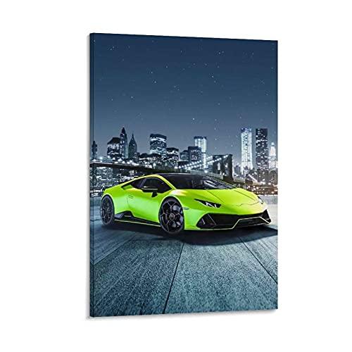 JUEDIN Green Cool - Póster deportivo para coche, 40 x 60 cm