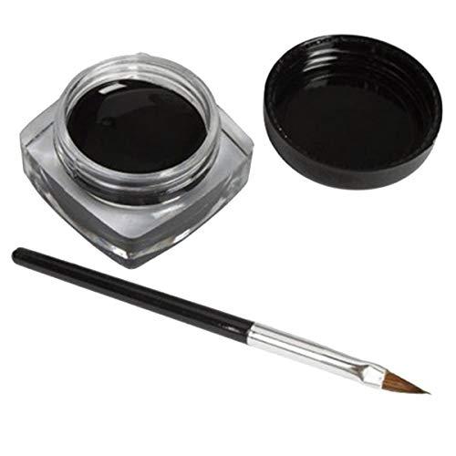 Greatangle Delineador de Ojos Negro Impermeable en Crema, Ma