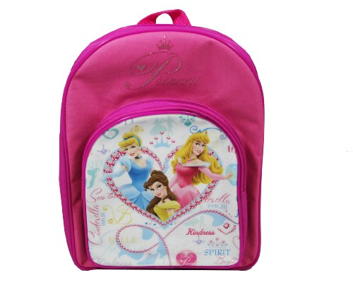 Trade Mark Collections Disney Princess Heart of a Backpack with Front Pocket