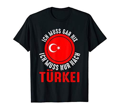 Türkei Sommerurlaub Reise Urlaub Sommer Strand Meer Side T-Shirt