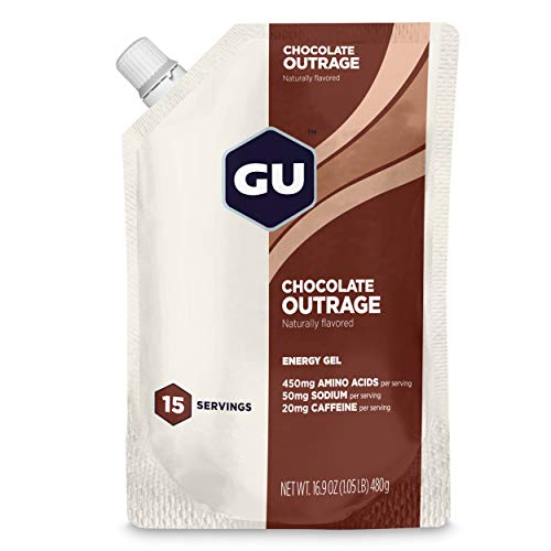 GU Energy Labs, Energy Gel, Chocolate Outrage, 15-Serving