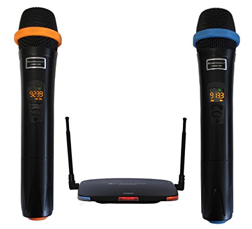 Martin Ranger U6800R-MINI Portable UHF Wireless Microphone Interference-Free Long Distance Operation, Ideal for Karaoke, Church, Weddings