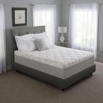Novaform 14' Serafina Pearl Gel Queen Memory Foam Mattress
