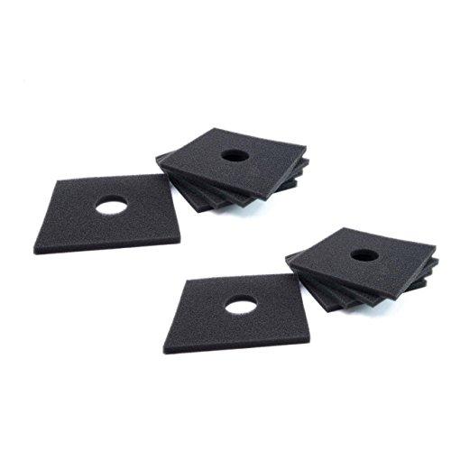 vhbw 10X Filtres permanents pour ventilateur Helios ELF-Serie, ELSN-Serie