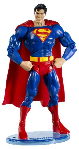 DC Universe Classic Superman Figure with Collector Button