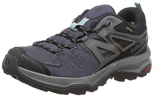 Salomon X Radiant GTX W, Zapatillas de Senderismo para Mujer, Gris...