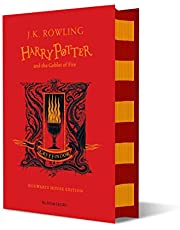 Harry Potter, Goblet of Fire: J.K. Rowling (Gryffindor Edition - Red)