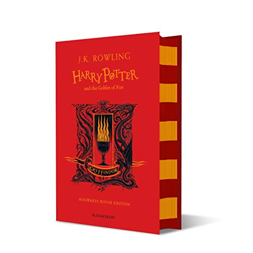 Harry Potter and the Goblet of Fire – Gryffindor Edition: J.K. Rowling (Gryffindor Edition - Red)