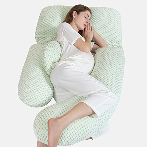 Pregnancy Pillow,G Shaped Full Body Maternity Pillow 73' Length for Pregnant Women&All Adults to Support Head Back Shoulder Tummy Hip Leg Belly,Detachable&Washable Full Total Body Pillow.