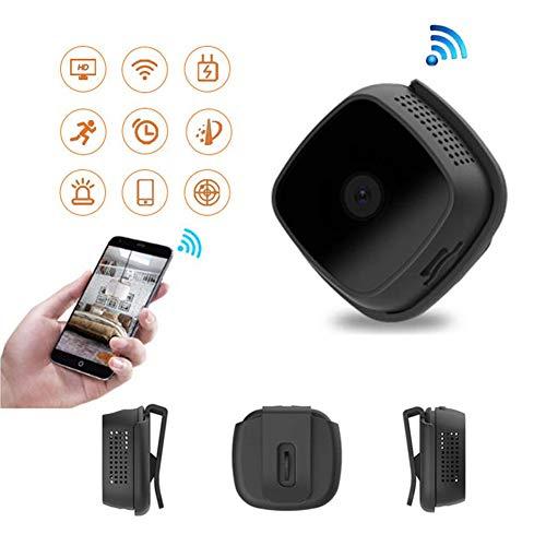 B&H-ERX Mini Spy Camera, Full HD 1080P Wireless WiFi Cam/kleine bewakingscamera Domestic/Tata Camera met nachtzicht en bewegingsdetectie Black
