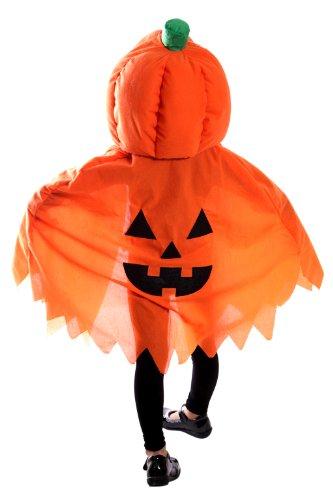 Jo02 citrouille costume Halloween cape cape costumes enfants costume d'Halloween horreur, taille 92-130