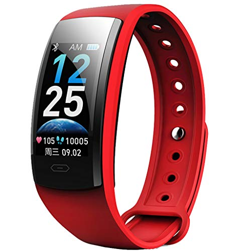 Review Meidexian888 Smart Wristband for iOS Android, Blood Pressure Heart Rate Sleep Monitor Remote ...