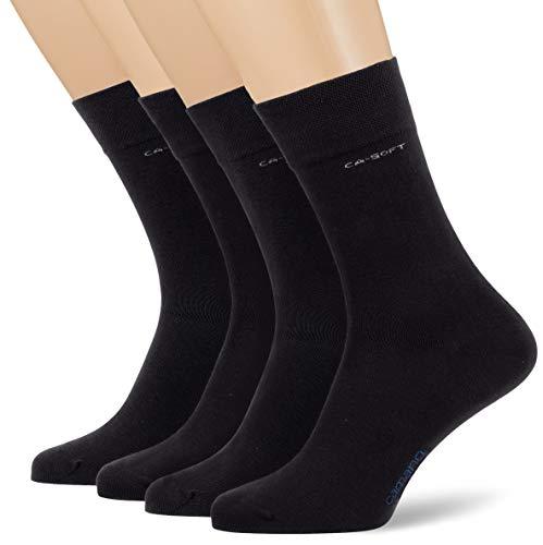 Camano Herren 3642000 Socken, Blau (Navy 0004), (Herstellergröße: 43/46) (4er Pack)