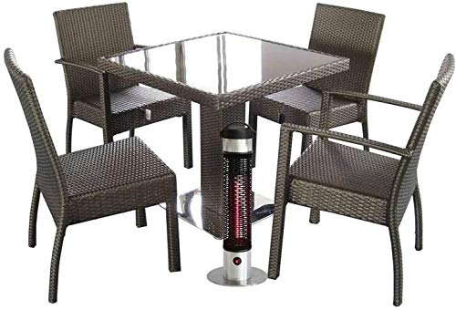 Outdoor standing Electric Patio Heater Infrared Heater Stable Column Heater Outdoor Freestanding Electric Patio Heater…
