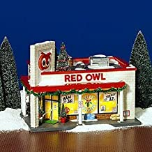Department 56 Original Snow Village The Red Owl Grocery Store Dept 56 55303