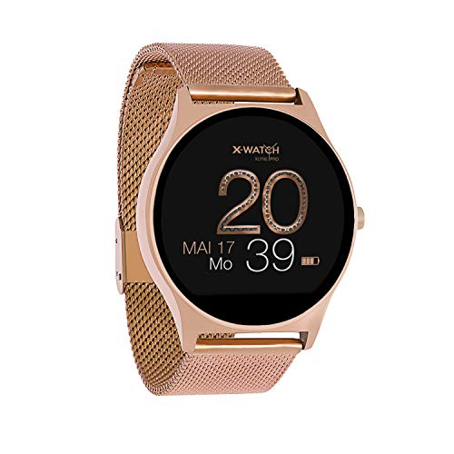 X-WATCH JOLI XW PRO Smartwatch-iOS-Schrittzähler Uhr Damen-Fitness 54029