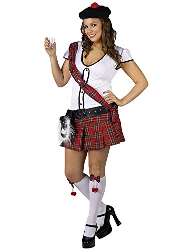 Sexy Scottie Hottie Plus Size Costume