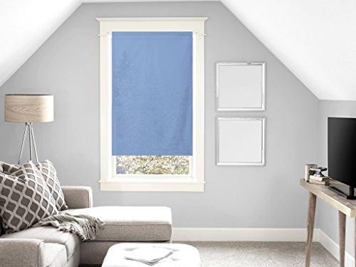 Soleil d'Ocre Brise bise, Coton, Bleu, 120x60 cm