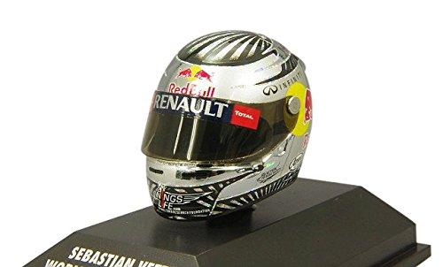 Minichamps 1: 8 Arai Helm Sebastian Vettel São Paulo 2012 World Champion