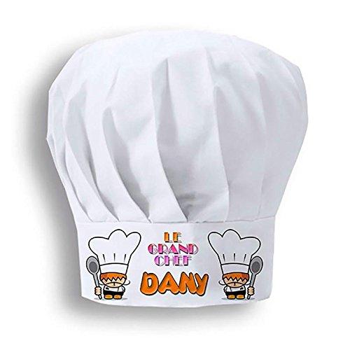 DKORA-T - Gorro Chef Personalizado