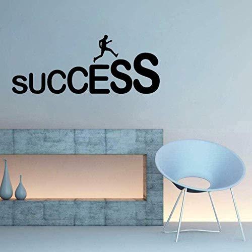Muurstickers muurschilderingen Decals Success Carrière Ladder Job Office PVC Verwijderbaar 67cm*27,2 cm